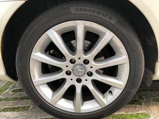 """17"""" Rims and tyres"""