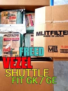 MLITFILTER PM2.5 A/C FILTER (VEZEL SHUTTLE, Freed, fit GK GE)