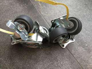"1.5"" Castor Wheel / Rotating Wheel 46x40cm"