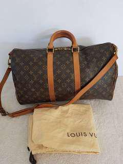 REPRICED!!!AUTHENTIC LOUIS VUITTON KEEPALL 45