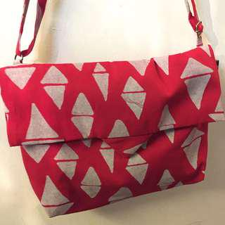 ODD TRIANGLES SERIES (Canvas Flap Bag)
