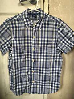 Authentic GAP polo shirt top boys 7y