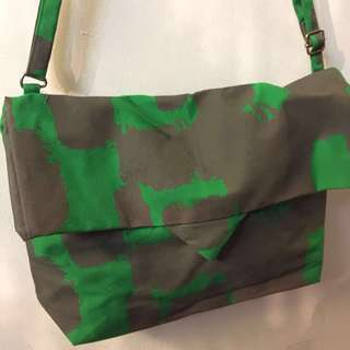 CHUNKY THUMB SERIES (Canvas Flap Bag)