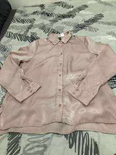 H&M Satin Top
