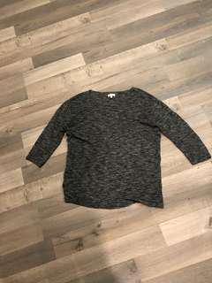 Aritzia Wilfred Blanchard Grey Sweater - size small