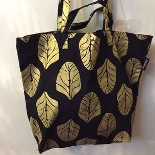 BIG LEAF SERIES (Dump-It-All-In Large Canvas Tote Bag)