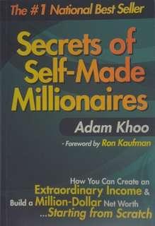 Secrets of Self-made Millionaire by Adam Khoo (E-book- Investment)