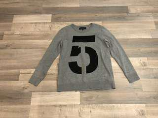 Rag and Bone grey sweater - size medium