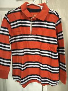Authentic Old Navy long sleeve sweatshirt polo top size XS