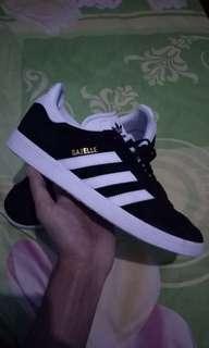 Adidas gazelle ll black white size 42 original