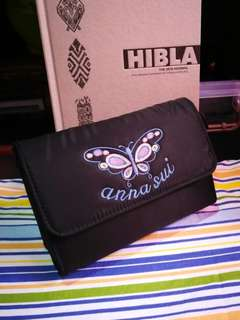 FREE!! ANNA SUI Makeup Pouch