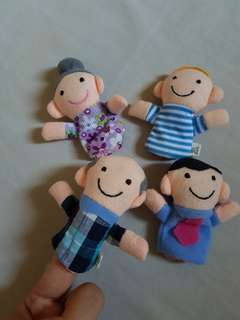 Finger doll boneka jari