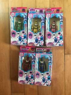 超力戰隊 五盒