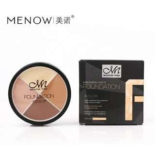 Menow 4 colors foundation face concealer