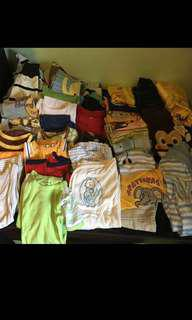 Lot of Babies Toddler Used Clothing