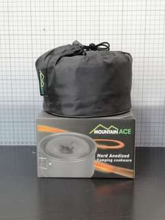 Mountain Ace Hard Anodized Camping Cookware