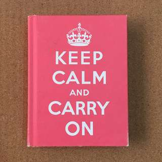 Keep Calm and Carry On Book