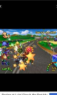 《原廠、正貨,9成新》Nintendo GameCube MarioKart Double Dash!!   2CD  (孖寶兄弟賽車)  Excellent game for families & friends gathering.  Best of the best! 100% Original  https://en.m.wikipedia.org/wiki/Mario_Kart:_Double_Dash  Made in USA 🇺🇸  美國製造 Super deals