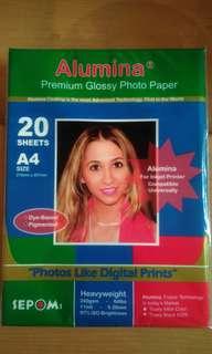 Alumina Premium Glossy Photo Paper