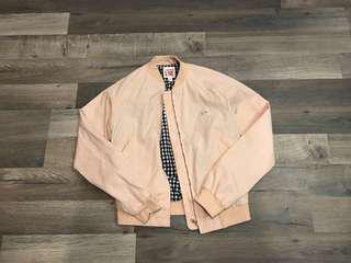 Lacoste Live Pink Bomber Jacket Coat