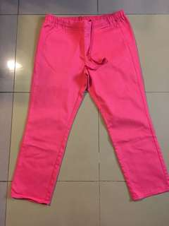 UNIQLO PINK PANTS