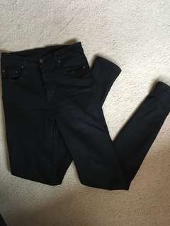 Nobody High-Rise Skinny Jeans size 25