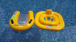 Intex swimming float (*price for both)