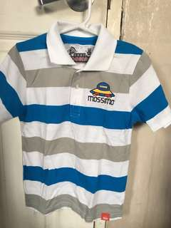 Authentic Baby Mossimo Kids top polo shirt boys fits 5-6 years old