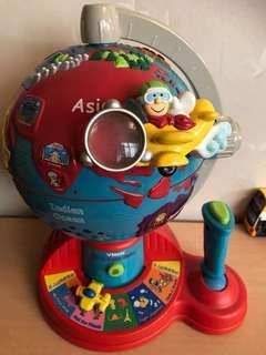 Vtech 玩具地球儀 英文版
