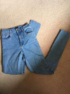A-Brand High-Rise Skinny Jeans size 6