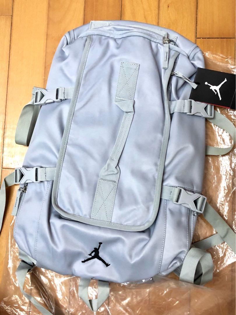 ab892d1546 100% new Nike Jordan Brand Backpack Grey