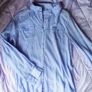 Cotton On Shirt Baby Blue