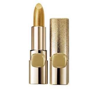 L'Oréal Paris Colour Riche Metallic lipstick in #629 pure gold