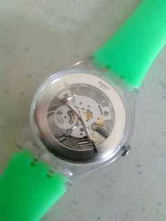 Swatch original newgent skeleton
