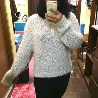 Fluffy sweater by H&M