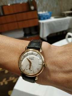 天梭手錶包金