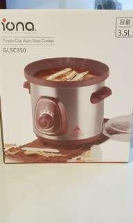 BN iona purple clay auto slow cooker