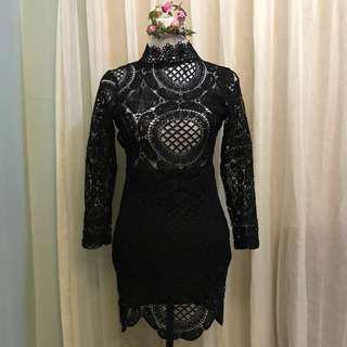 ‼️(FLAWED)‼️SEXY BLACK DRESS