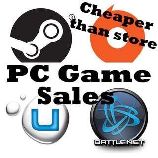 PC Games Sale - Steam / Origin / UPlay / Battle.net