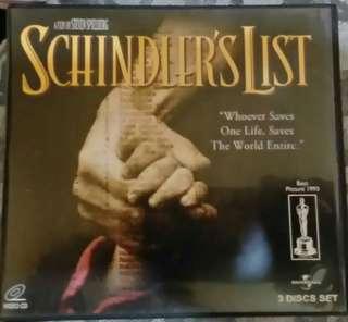 Schindler's List VCD