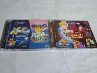 Disney Cinderella's Animated Film Series
