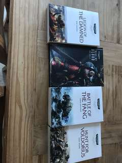 Warhammer 40k space marine battles novels