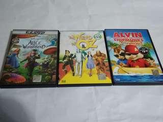 Variety of Original VCD/DVD