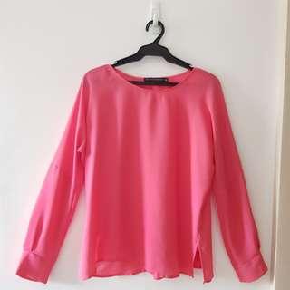 Zara Woman Pink Top