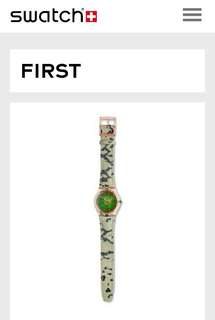 Swatch original langka limited edition