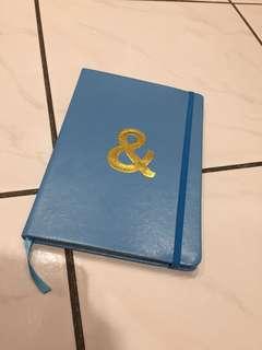 Blue & Gold Notebook