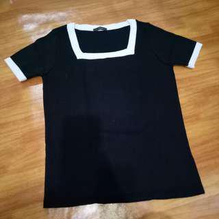 Simple Black Top