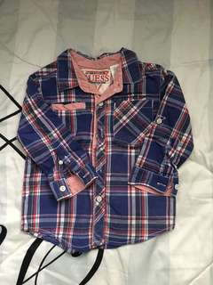 Authentic guess Boy's Shirt