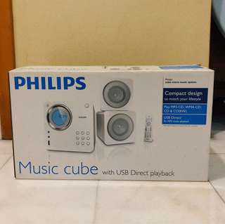 Philips Music Cube with USB direct playback