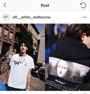 """Multiple Off-White pieces """"For All"""" (read description below)"""